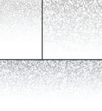 Sistema de Gray Technology Pixel Backgrounds abstracto Imagen de archivo libre de regalías