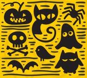 Sistema de Halloween Foto de archivo