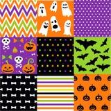 Sistema de Halloween, modelos, plantillas libre illustration