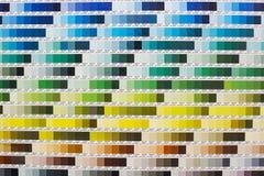 Sistema de harmonização de Pantone imagem de stock