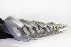 Sistema de herramientas de la mano del metal Fotos de archivo