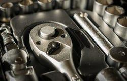Sistema de herramientas del trinquete Imagen de archivo