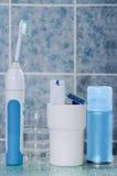 Sistema de higiene personal Fotografía de archivo libre de regalías