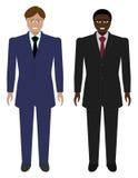 Sistema de hombres de negocios Fotos de archivo libres de regalías