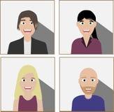 Sistema de hombres de negocios diversos libre illustration
