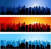 Sistema de horizonte de la ciudad