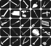 Sistema de iconos Fotografía de archivo libre de regalías