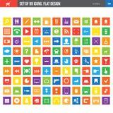 Sistema de iconos Imagen de archivo