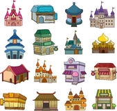 Sistema de iconos de la casa Foto de archivo