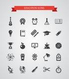 Sistema de iconos planos del diseño del vector Imagenes de archivo
