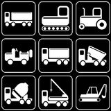 Sistema de iconos - transporte, viaje, resto Fotografía de archivo libre de regalías