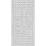 Sistema de iconos universales Imagen de archivo