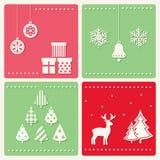 Sistema de imágenes de la celebración del invierno Fotos de archivo