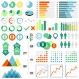 Sistema de Infographics Imágenes de archivo libres de regalías