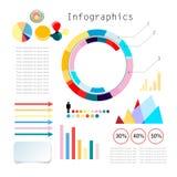 Sistema de Infographics Imagen de archivo