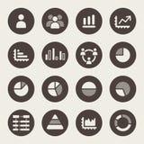 Sistema de Infographics Elements.Icon Imagen de archivo libre de regalías
