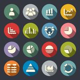 Sistema de Infographics Elements.Icon Fotografía de archivo