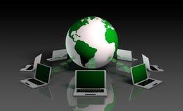 Sistema de información Foto de archivo