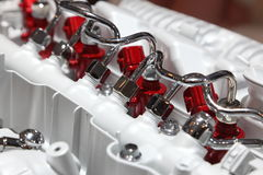 Sistema de injeção diesel do trilho comum imagem de stock royalty free