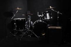 Sistema de instrumentos musicales Imágenes de archivo libres de regalías