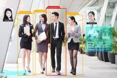 Sistema de inteligencia artificial imagen de archivo