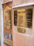 Sistema de intercomunicación veneciano fotos de archivo libres de regalías