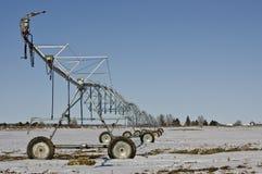 Sistema de irrigação moderno - MAIS na carteira Fotografia de Stock Royalty Free