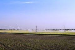 Sistema de irrigación fotos de archivo libres de regalías