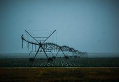 Sistema de irrigación de las naturalezas fotografía de archivo