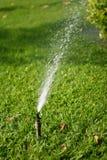 Sistema de irrigación del jardín Imagen de archivo
