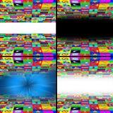 Sistema de la abstracción de las multimedias de los iconos 11.06.13 del web libre illustration