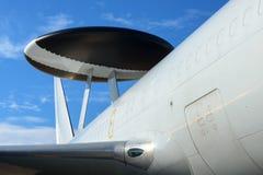 Sistema de la alerta aerotransportada y de control Foto de archivo libre de regalías