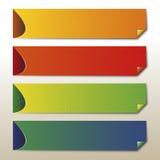 Sistema de la bandera Imagen de archivo libre de regalías