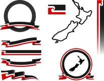 Sistema de la bandera de Aotearoa Imagen de archivo