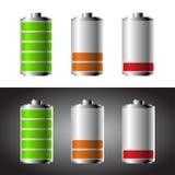 Sistema de la batería Fotos de archivo libres de regalías