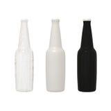 Sistema de la bebida no alcohólica del cóctel del alcohol de la botella con la trayectoria de recortes Imagen de archivo libre de regalías