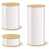 Sistema de la caja de embalaje de los plásticos Foto de archivo libre de regalías