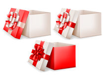 Sistema de la caja de regalo libre illustration