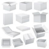 Sistema de la caja Web del vector Foto de archivo libre de regalías