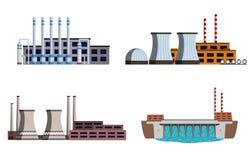 Sistema de la central eléctrica Fotos de archivo libres de regalías