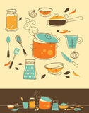 Sistema de la cocina Imagen de archivo