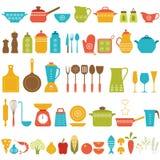 Sistema de la cocina Foto de archivo