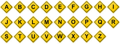 Sistema de la consonante Imagenes de archivo