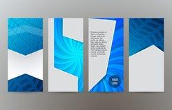 Sistema de la disposición vertical background11 de la bandera del web libre illustration