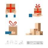 Sistema de la entrega Imagen de archivo libre de regalías