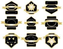 Sistema de la etiqueta. Imagen de archivo libre de regalías