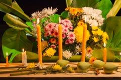 sistema de la flor que ruega para dios Fotografía de archivo