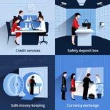 Sistema de la gente del banco