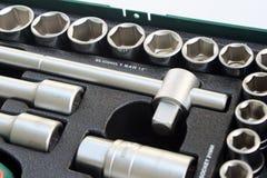 Sistema de la herramienta de mano Foto de archivo libre de regalías