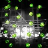 sistema de la lámpara del festival Imagen de archivo